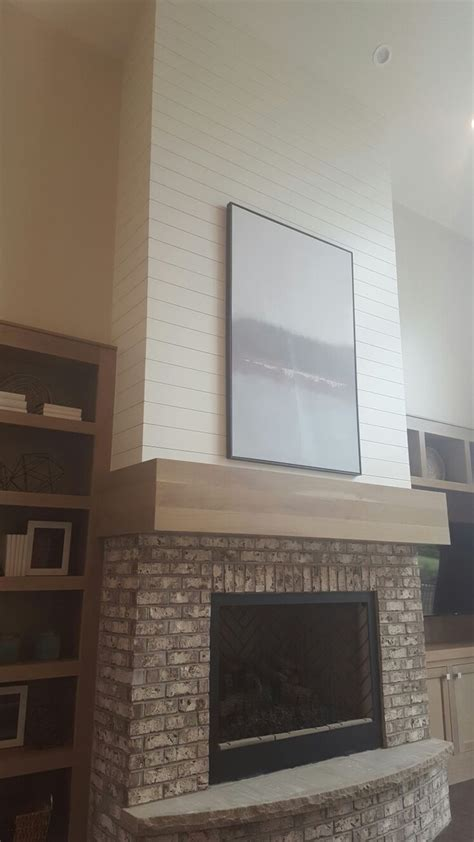 1000 ideas about shiplap fireplace on pinterest - Shiplap Utah