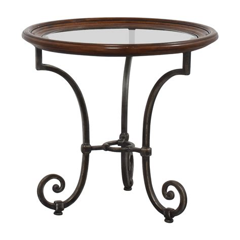 Ethan Allen Side Table 76 Ethan Allen Ethan Allen Glass Side Table Tables