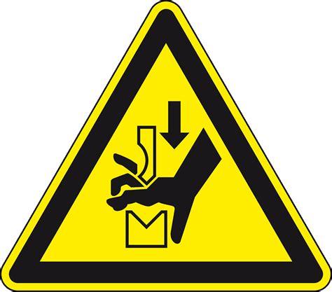 Aufkleber Quetschgefahr by Warnschild Warnung Vor Konform Folie Sl 50mm 10 Bogen