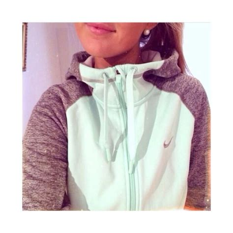 Jaket Hoodie Sweater Nike Air Kombinasi 1 womens nike mint and grey sweatshirt heavenly nightlife