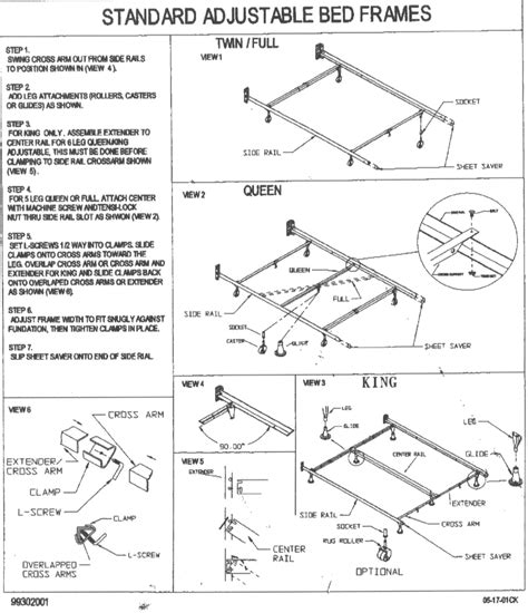 How To Assemble King Bed Frame Frame Design Reviews How To Set Up A Metal Bed Frame