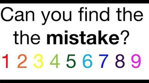 found 4 you can you find the mistake puzzle www imgkid the