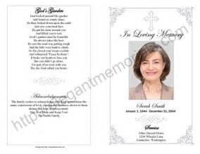 memorial service program sle memorial program template display bifold plain template 3 funeral program template