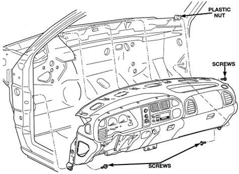 automotive air conditioning repair 2005 dodge dakota instrument cluster repair guides heater core removal installation autozone com