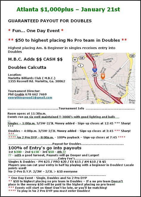 Atlanta Calendar Of Events Schedule Of Events Atlanta Calendar Template 2016