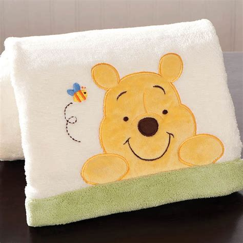 Peeking Pooh Crib Bedding by Winnie The Pooh Boa Blanket Peeking Pooh Disney Baby