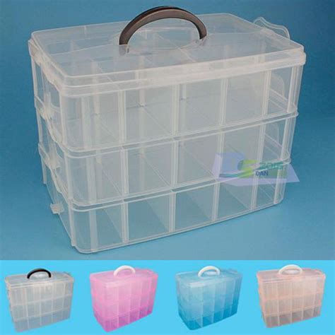 container store jewelry storage 30 cells large plastic box jewelry storage box organizer