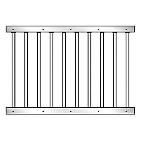 horse stall grill sections 72 quot essex grillwork section kit ramm horse fencing stalls