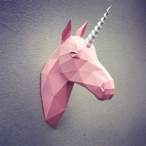 Papercraft Unicorn - unicorn