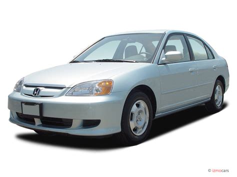 car owners manuals for sale 2003 honda civic on board diagnostic system image 2003 honda civic 4 door sedan hybrid manual angular front exterior view size 640 x 480