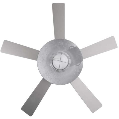 galvanized outdoor ceiling fan grayton 34343 54 in indoor outdoor galvanized ceiling fan