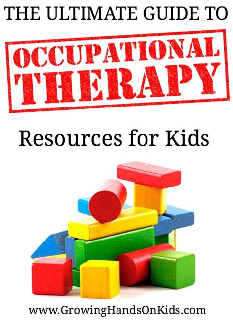 The Ultimate Guide To Resources by The Ultimate Guide To Occupational Therapy Resources For