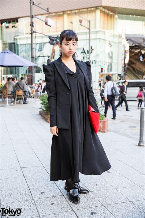 va fashion yohji yamamoto yohji yamamoto fashion no no yes clutch ear spikes in harajuku