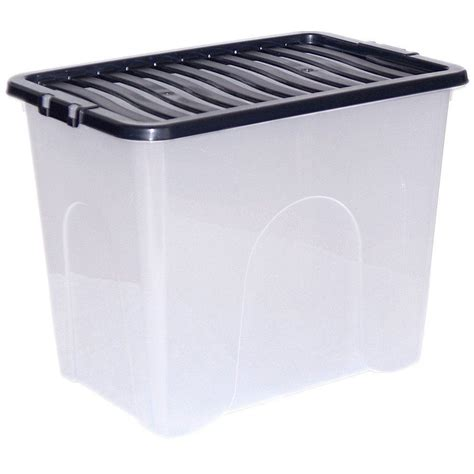 Box Container Large Plastic Storage Clear Box With Lid Container Made In