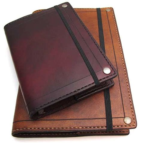 Leather Cover by Inkleaf Leather Co Moleskine Cover Review The Gadgeteer