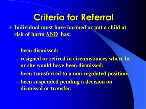 Referral Order Criminal Record Ppt Protection Of Children And Vulnerable Adults Ni Order 2003 Pat Mcglew Child