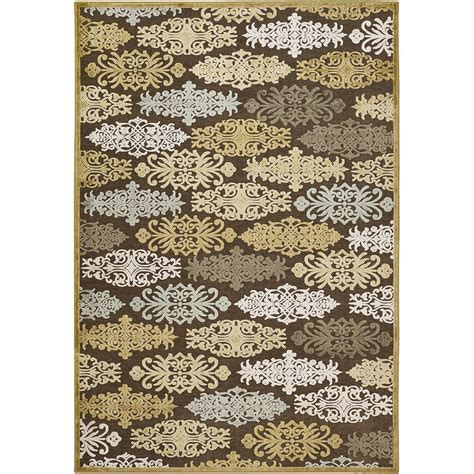 viscose and chenille rugs artistic weavers cynthia gold viscose and chenille 2 ft 6 in x 7 ft 10 in area rug cyn3800