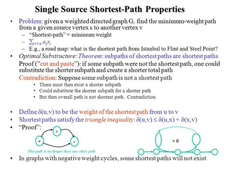 coding shortest route single source shortest path and linear programming ppt