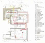 Schaltplan Kombiinstrument UN4  Audi 80 B4