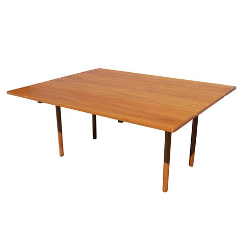 Dining Table With Leaves Mid Century Modern Drop Leaf Dining Table Ebay