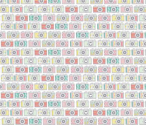 camera wallpaper pattern mutli pattern camera collection fabric