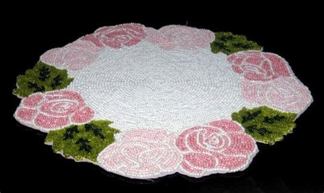 beaded table mats and coasters beaded table mats id 6047379 product details view