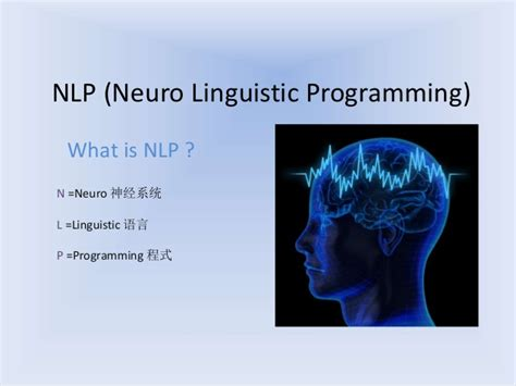 What Is L Programming by Nlp Neuro Linguistic Programming