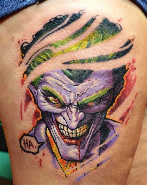 joker tattoo back piece tattoos archives randommization