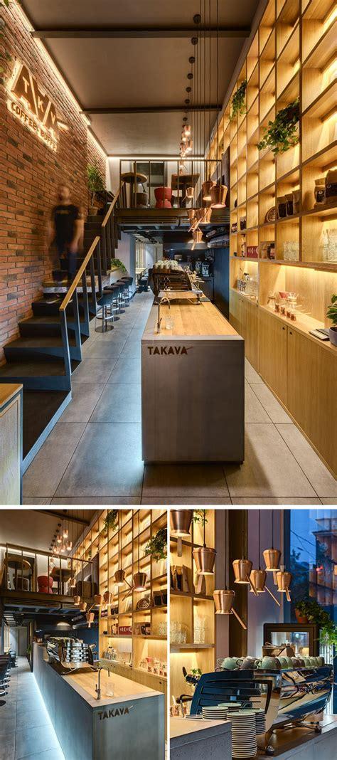 coffee shop creates  warm interior