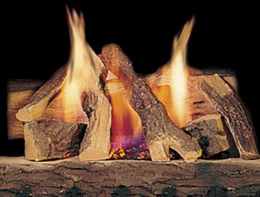 Fireplace Log Placement by Heatilator Gas Fireplace Logs Log Sets