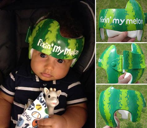 painting for babies artist transforms babies shaping helmets into
