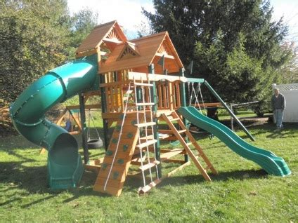 wooden swing sets with installation swing set installer nj wooden playsets installation
