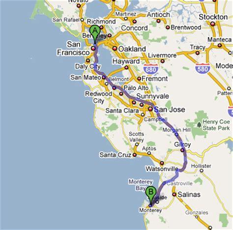 san jose monterey map bundu bashers tours