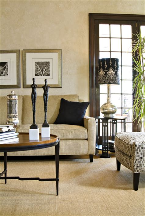black and tan living room black and tan room by harden traditional family room