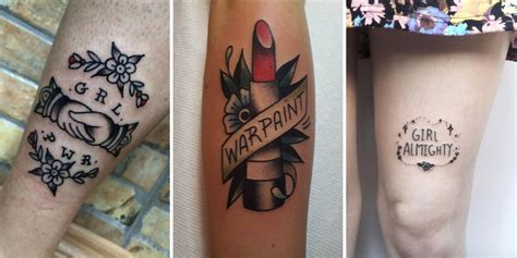 30 feminist and power tattoo designs tattooblend