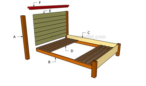 diy queen bed frame pdf diy queen size bed frame diy download rocking horse plans 2 wordpress woodideas
