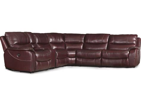 hocker sofa furniture wine with black trim 6 power