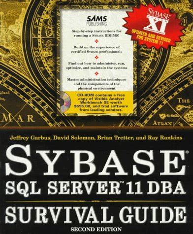 Sybase Sql Server 11 Dba Survival Guide Download Pdf By