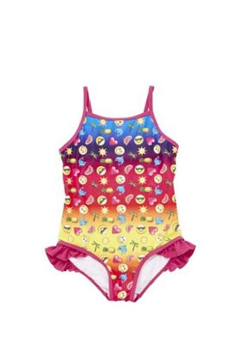 Number Print Swimsuit buy emoji print swimsuit from our new in range tesco