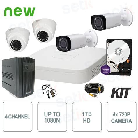 Paket Cctv 4channel 5in1 1080n kit dh ho cx 04 10 4 channel hd cvi cctv dahua kit prices