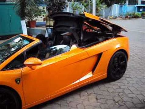 How Does It Take To Make A Lamborghini Lamborghini Gallardo Lp560 4 Spyder Roof Convert