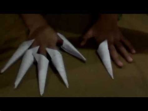 How To Make Origami Nails - how to make an origami nail