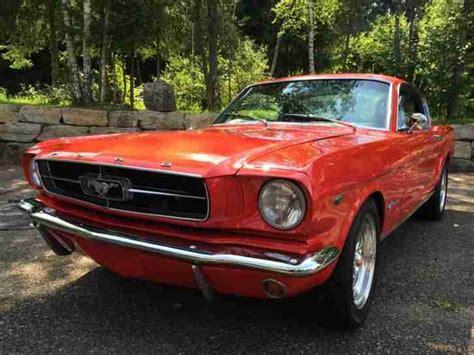 Mustang Auto Günstig Kaufen ford mustang fastback 1965 topseller oldtimer car group