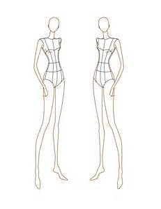 fashion template fashion sketch templates front and back www imgkid