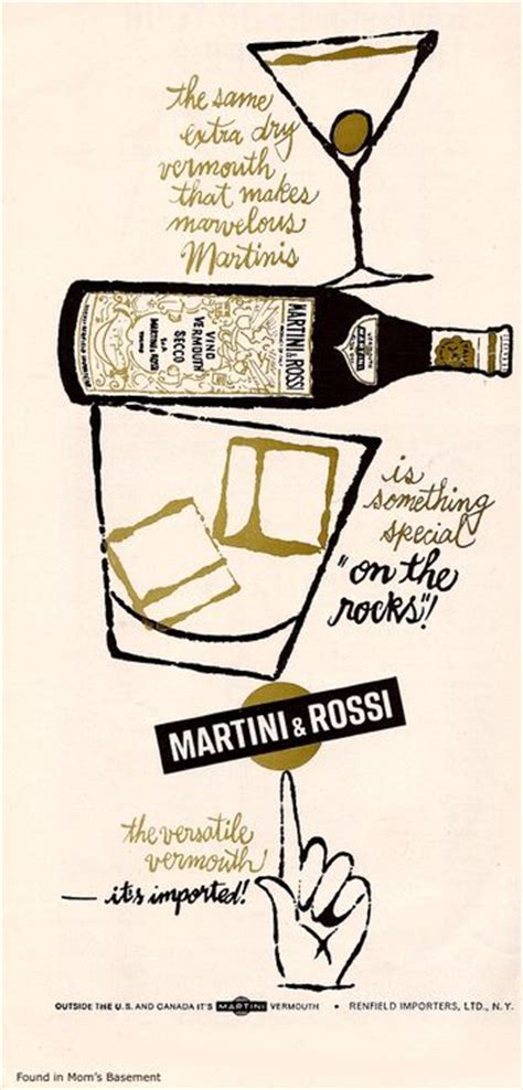 martini and rossi ad 107 best images about 60 s cocktail party on pinterest