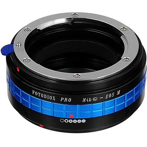 Adapter Lensa Canon To Nikon fotodiox pro lens mount adapter for nikon f mount nk g