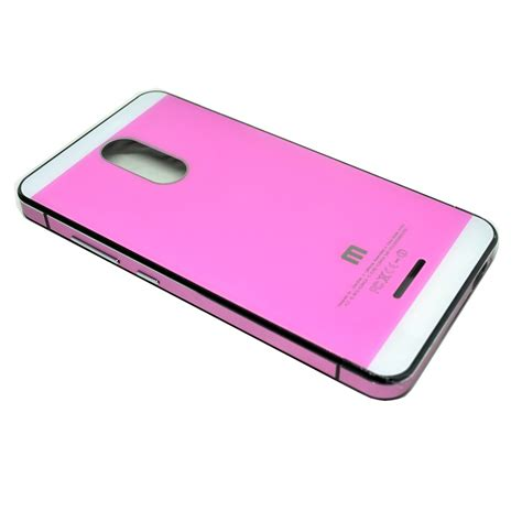Aluminium Tempered Glass For Xiaomi Redmi 1udakg White Pink aluminium tempered glass for xiaomi redmi note 3