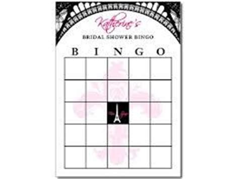 bingo parisians and bingo cards on pinterest