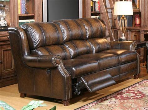 twain power dual reclining sofa  brown black  toned