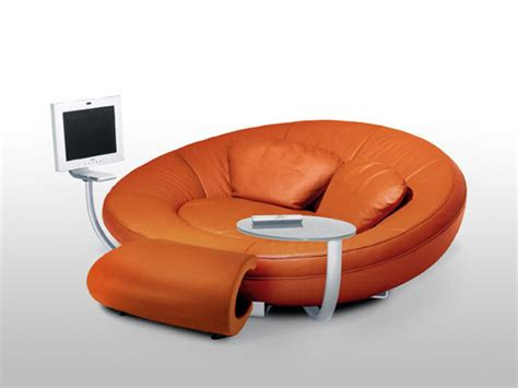 oval entertainment sofa by de sede home decoration tricks